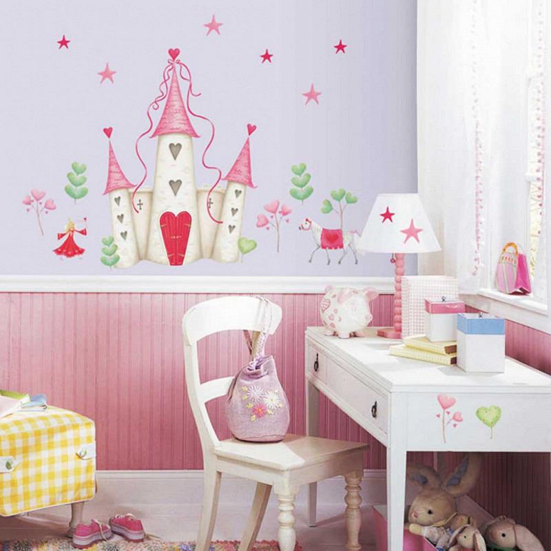 RoomMates Wandtattoo Prinzessinnenschloss