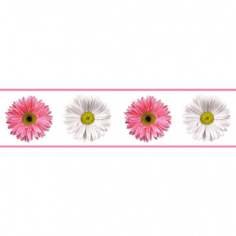 RoomMates Tapeten Borte Bordüre Gerbera Blume