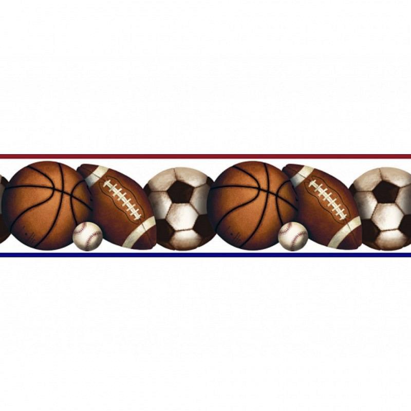 RoomMates Bordüre Ballsport