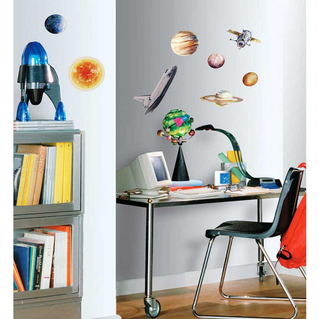 Roommates wandsticker planet weltall kinderzimmer - Roommates wandsticker ...