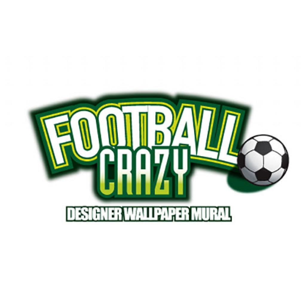 Kinderzimmer Tapeten Fu?ball : Walltastic Fototapete Kinderzimmer Fu?ball Football Crazy inklusive