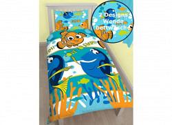 Bettwäsche Nemo Findet Dory Meereswelt