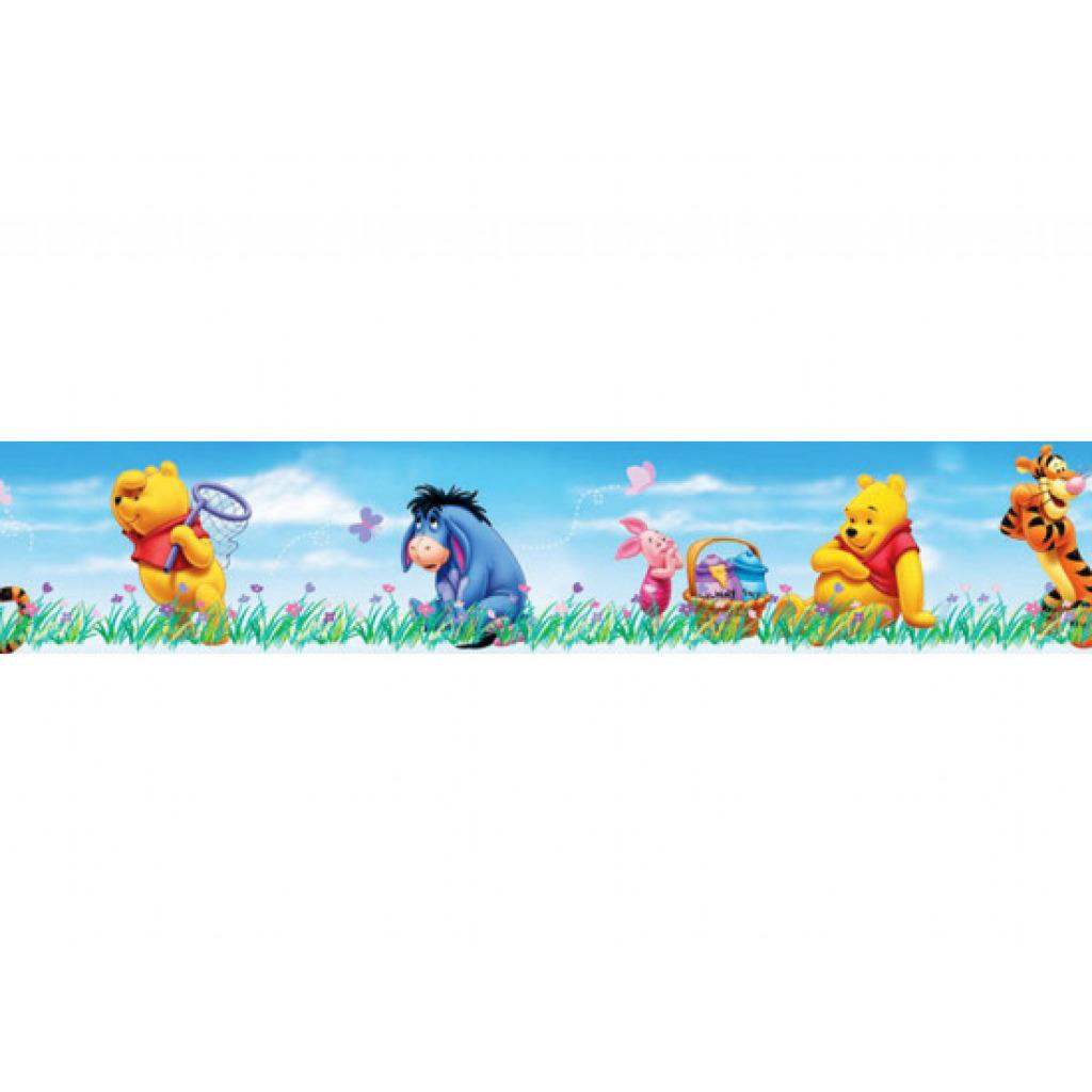 Kinderzimmer Tapeten Bord?re : Details zu Kinderzimmer Tapeten Bord?re Borte Disney Winnie Pooh