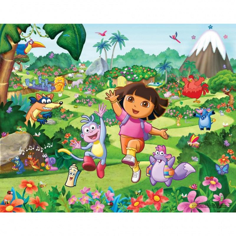 Fototapete Kinderzimmer Dora the Explorer