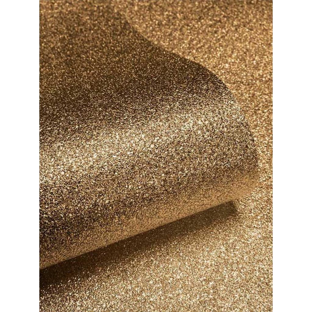 Tapetenrolle Gold Glitter Effekt