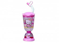 Hello Kitty Glitter Trinkbecher