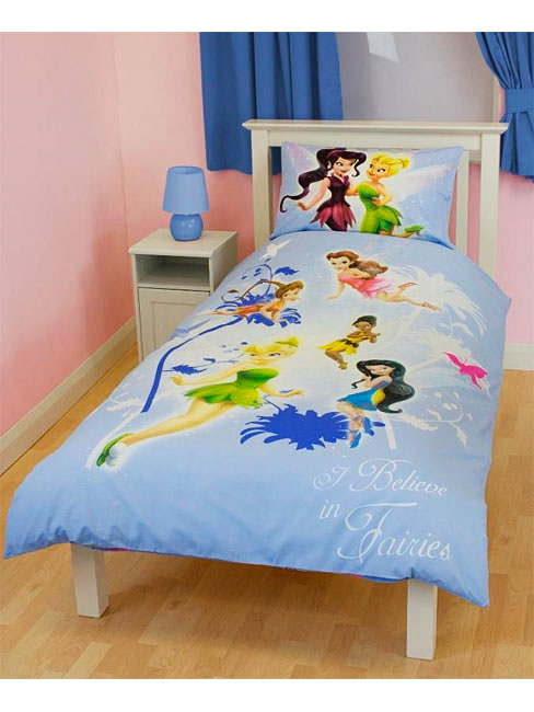 disney fairies tinkerbell wende bettw sche kinderzimmer. Black Bedroom Furniture Sets. Home Design Ideas