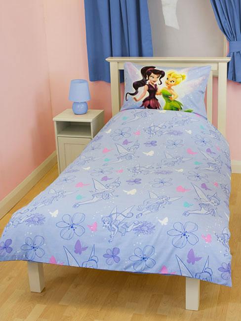 disney fairies tinkerbell wende bettw sche kinderzimmer. Black Bedroom Furniture Sets. Home Design Ideas