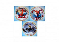 Wandsticker Spiderman Sticker Quadrate