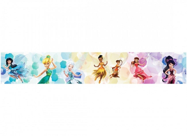 Bordüre Disney Fairies Tinkerbell Feentanz