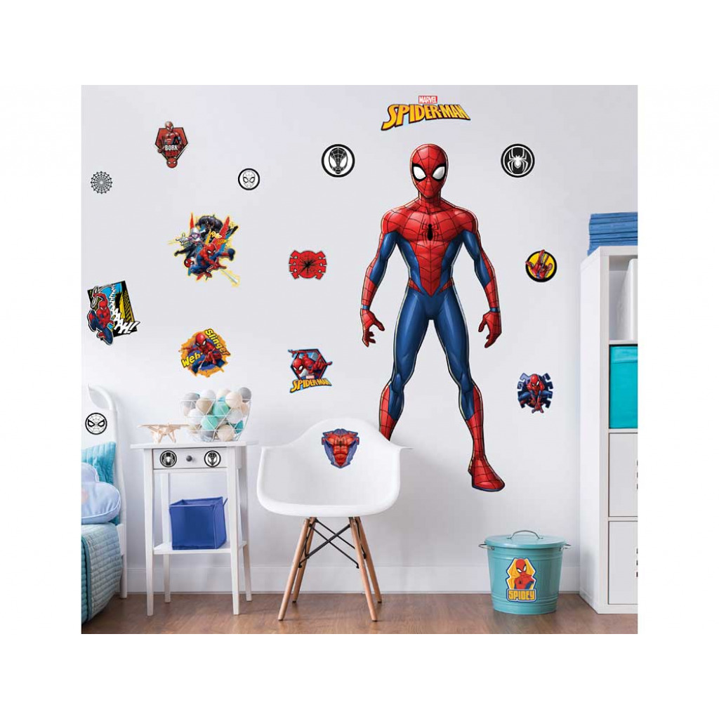 Walltastic Wandsticker Marvel Spiderman Kinderzimmer Dekopaket