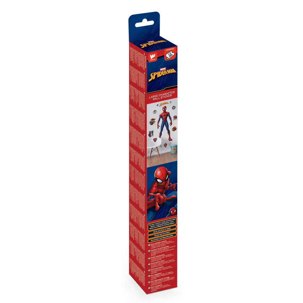 Wandsticker Marvel Spiderman Lichtschalter Namensschild