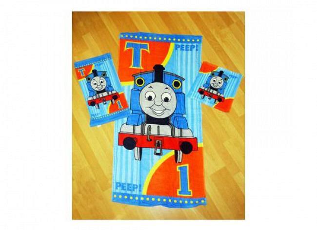 Handtuch-Set Waschlappen Lokomotive Thomas
