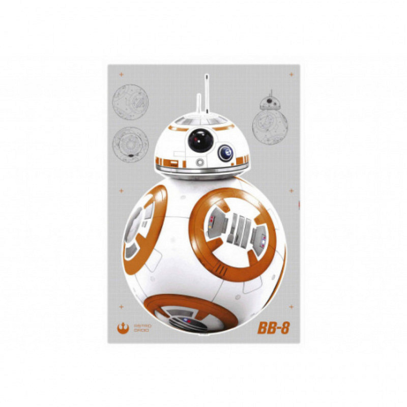 Wandsticker Star Wars Droide BB-8