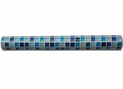 Tapete selbstklebend Mosaik Fliesen marineblau