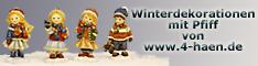 www.4-haen.de-Winterdekorationen mit Pfiff