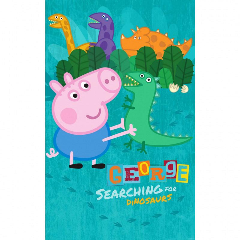 Fototapete Schwein Peppa Pig Poster