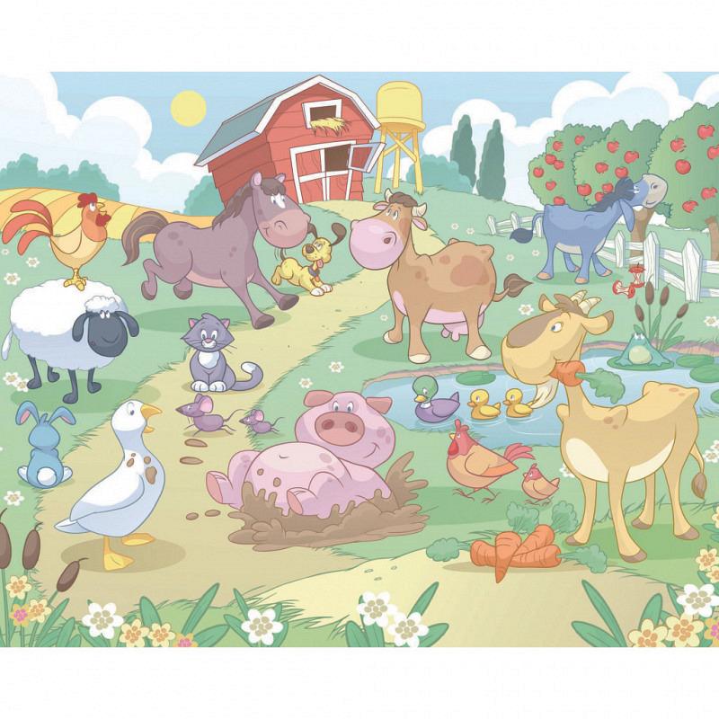 Fototapete Babyzimmer Bauernhof
