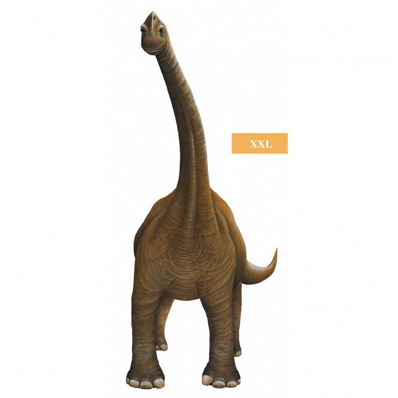 Wandsticker Bronchiosaurus XXL
