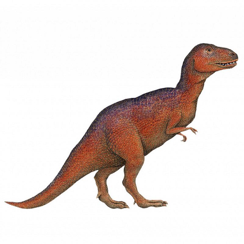 Wandsticker Dinosaurier T. Rex klein