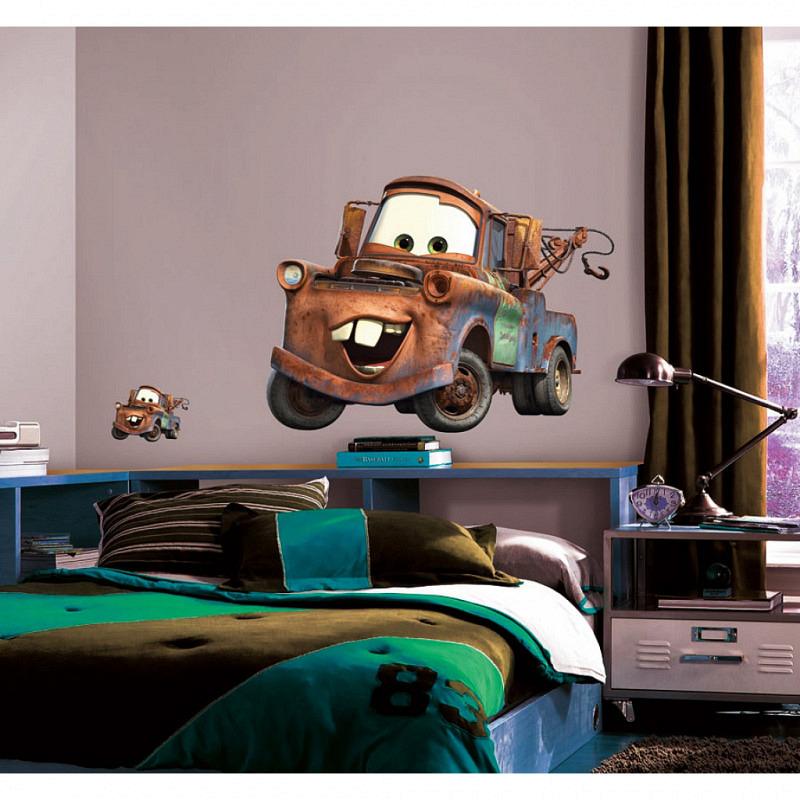 RoomMates Wandsticker Abschleppwagen Mater