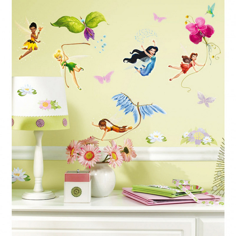 RoomMates Wandsticker Tinkerbell Fee