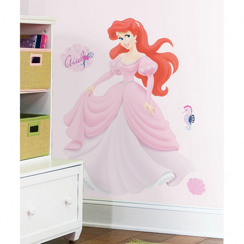 RoomMates Wandsticker Disney Princess Ariel