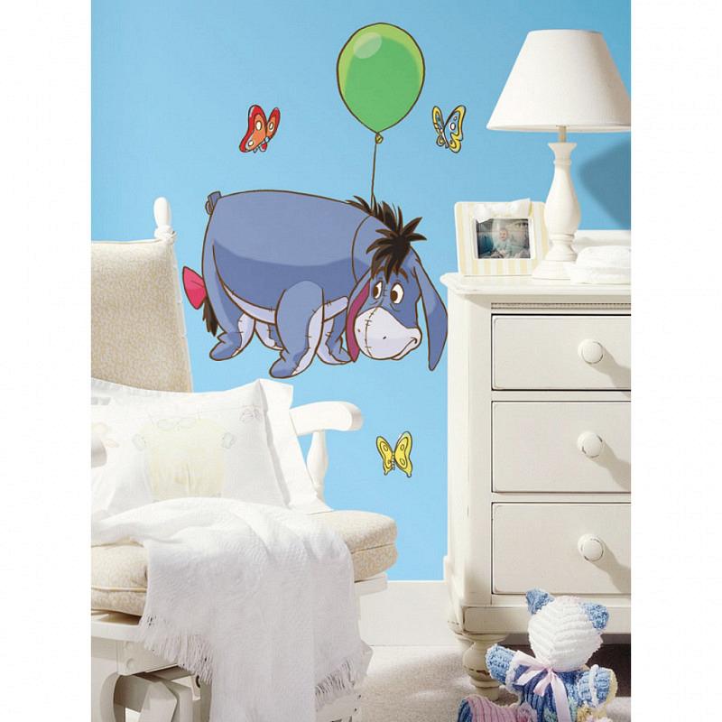 RoomMates Wandbild Winnie Pooh Eeyore