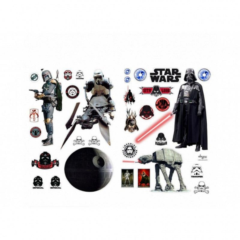 Wandsticker Star Wars Das Imperium schlägt zurück