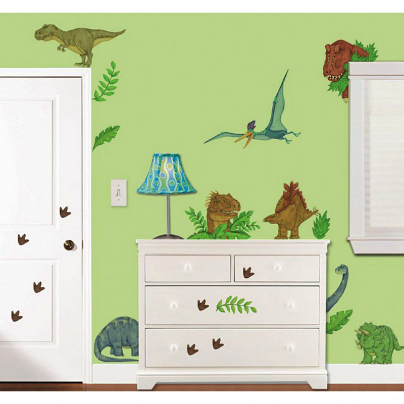 Borders Unlimited Wandsticker Dinosaurier