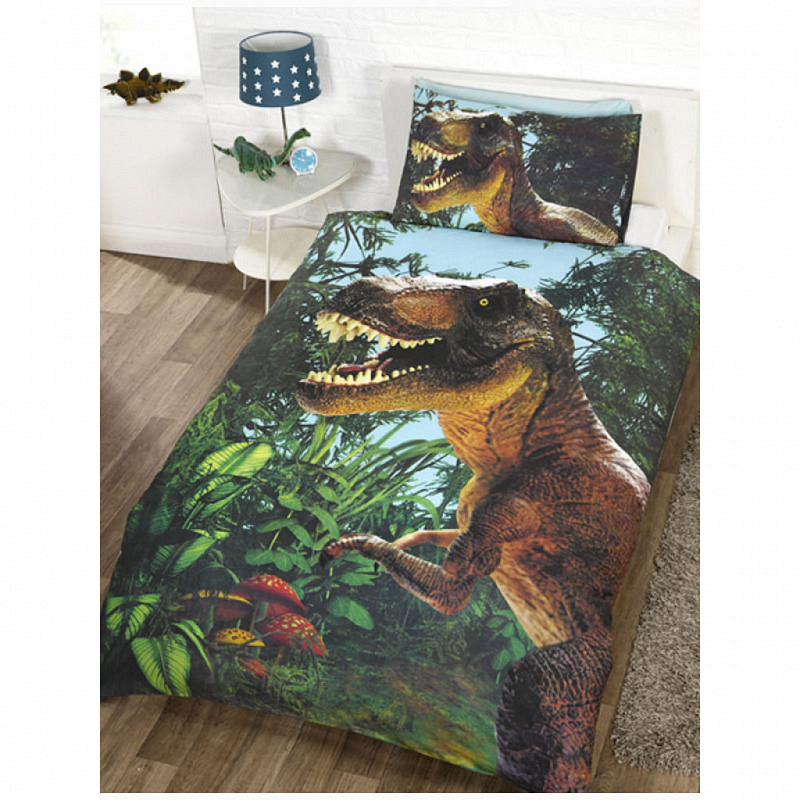 Bettwäsche T. Rex Dinosaurier