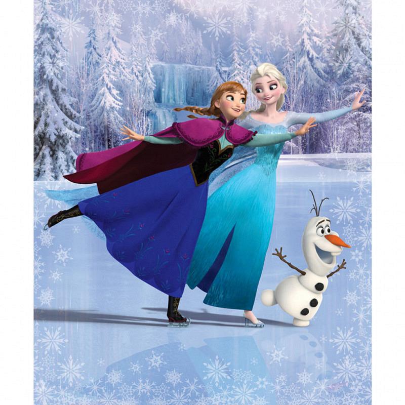 Fototapete Disney Frozen Schlittschuhlaufen