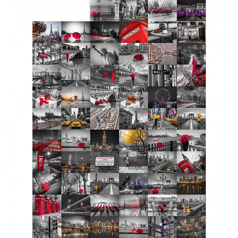 Wanddekoration City Großstadt Flair Designer Tapete