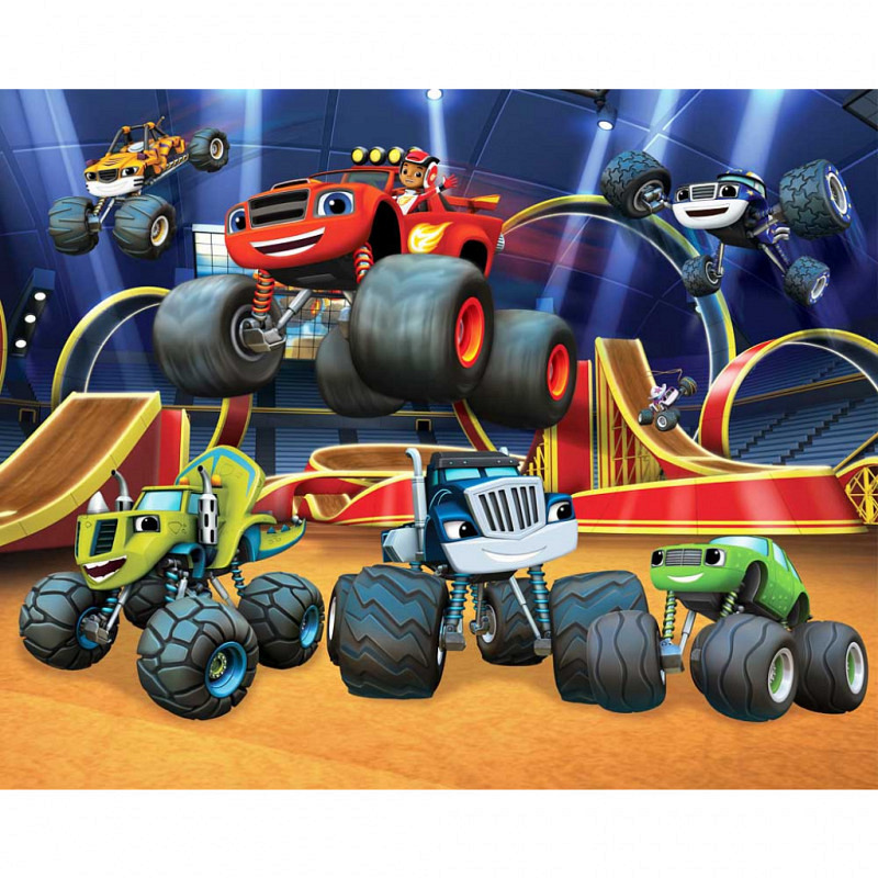 Fototapete Blaze and the Monster Machines