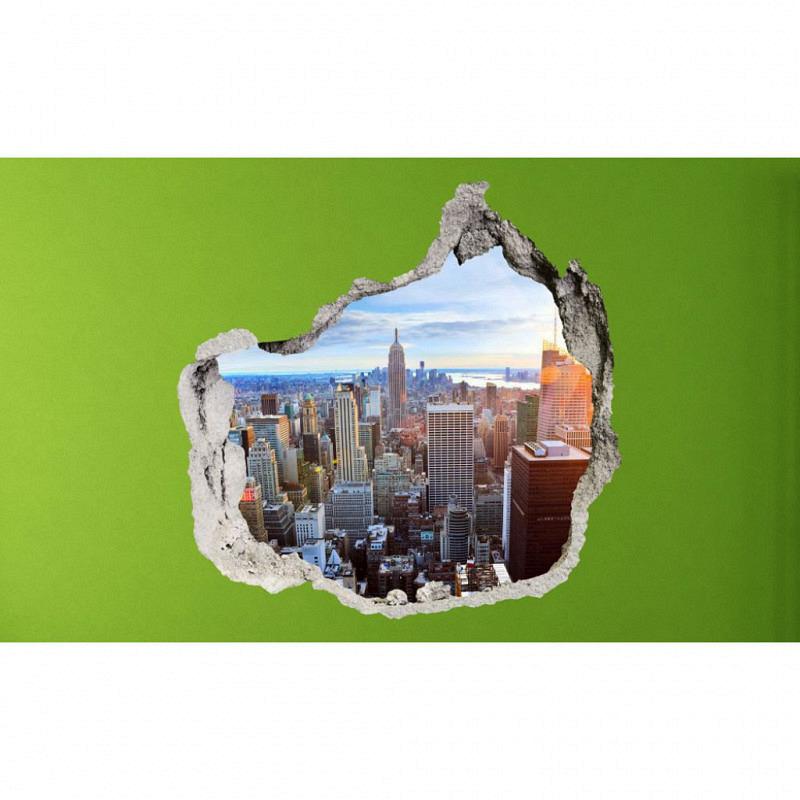 Wandsticker 3D-Optik New York Skyline