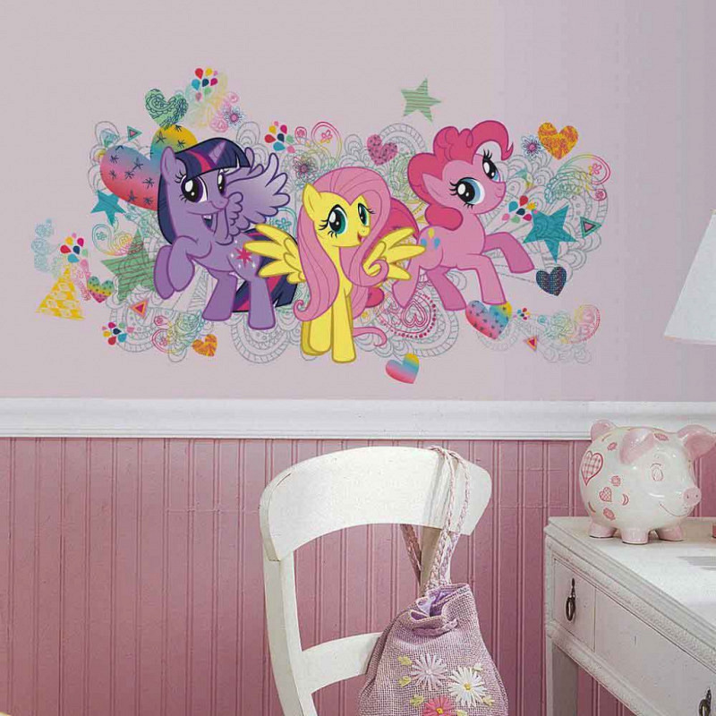 RoomMates großer Wandsticker My little Pony