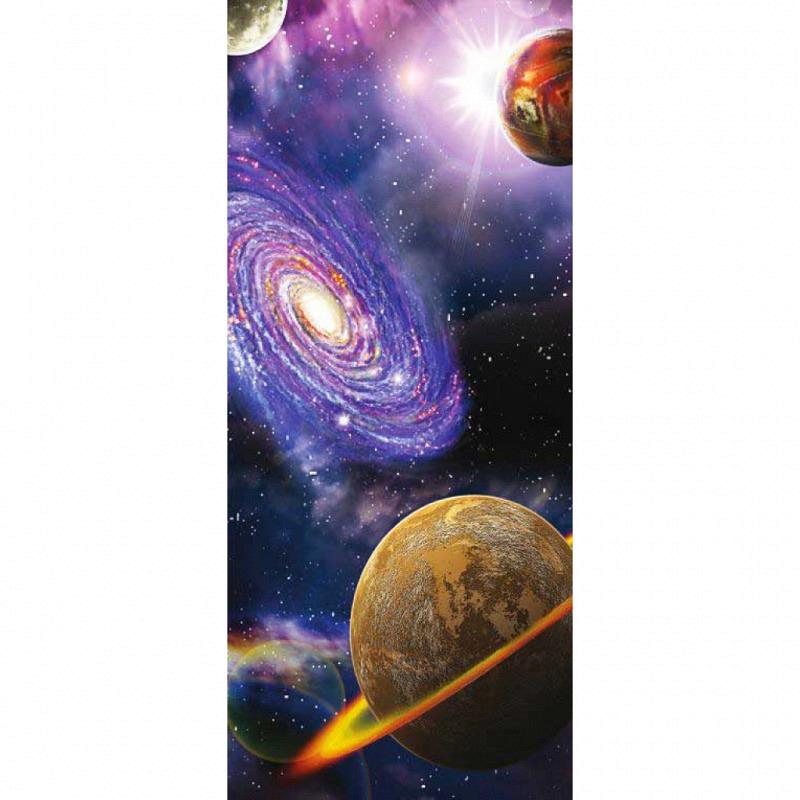 Türposter Vliestapete Universum