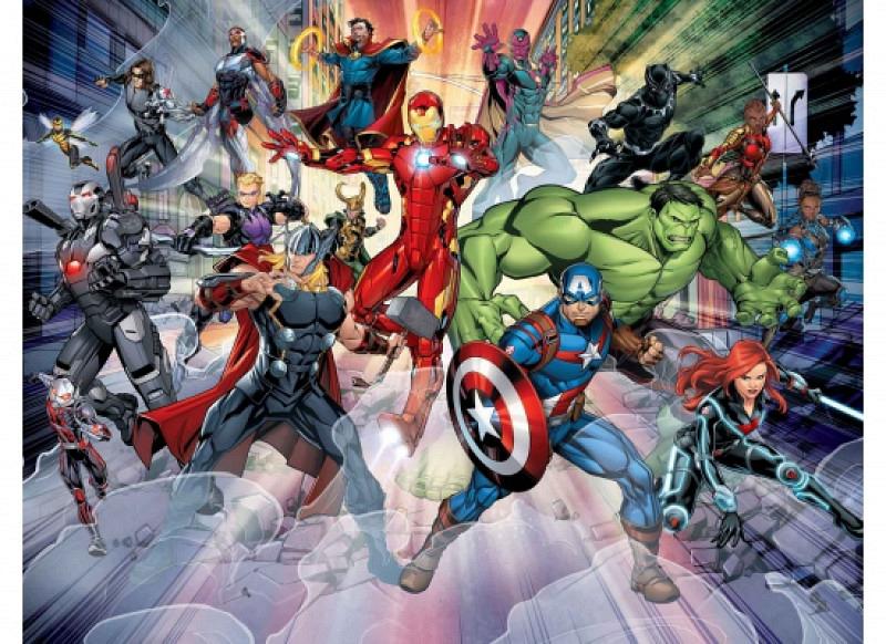 Fototapete Avengers Marvel Comic