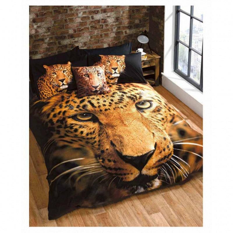 Bettwäsche Raubkatze Leopard