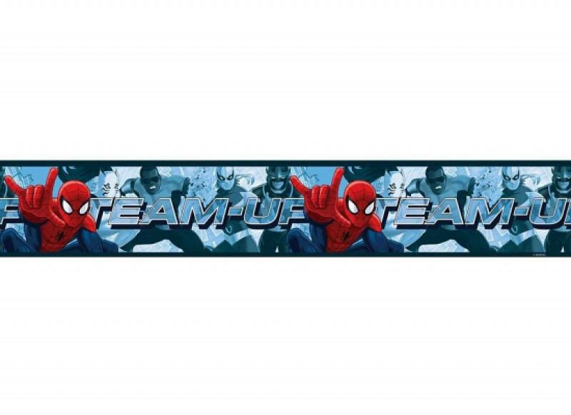 Bordüre Spiderman Team Up selbstklebend