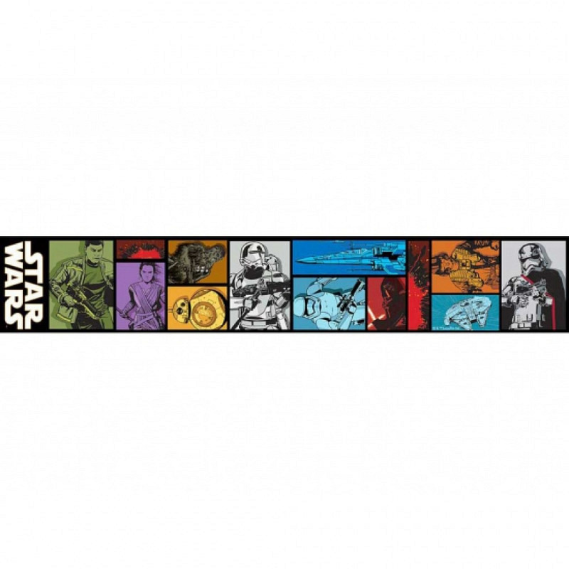 Bordüre Star Wars Episode VII selbstklebend