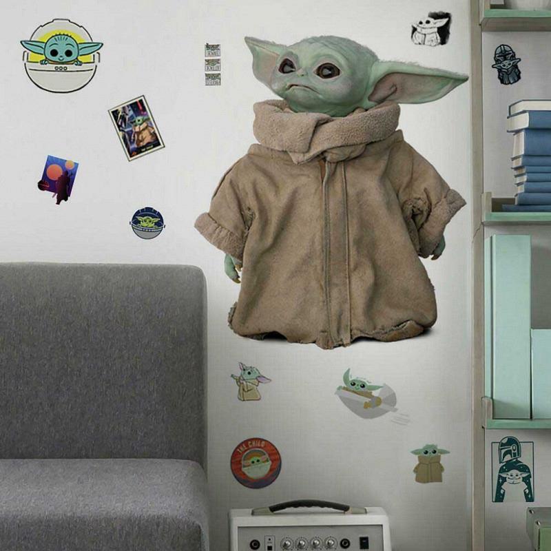 RoomMates Wandtattoo Mandalorian Yoda Baby