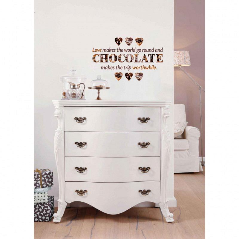 Wandtattoo Chocolate