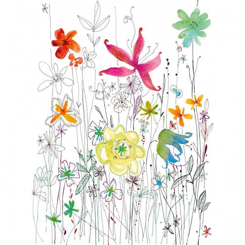 Vlies Fototapete Flora Blumen Blüten