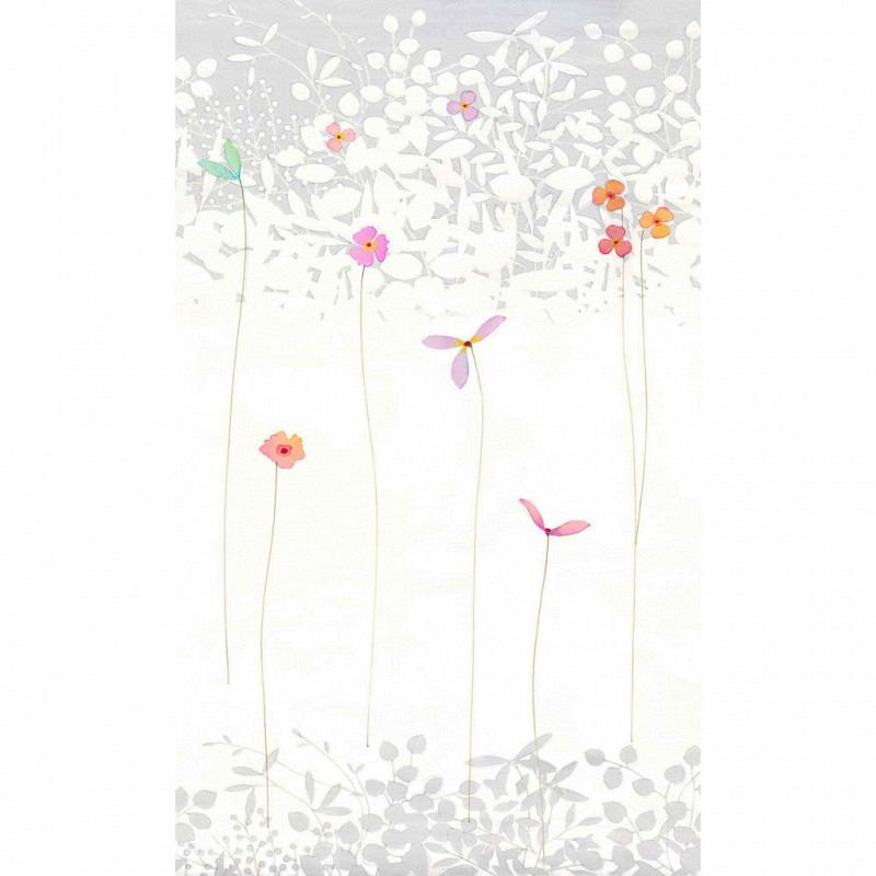 Vlies Fototapete Japan Blumen