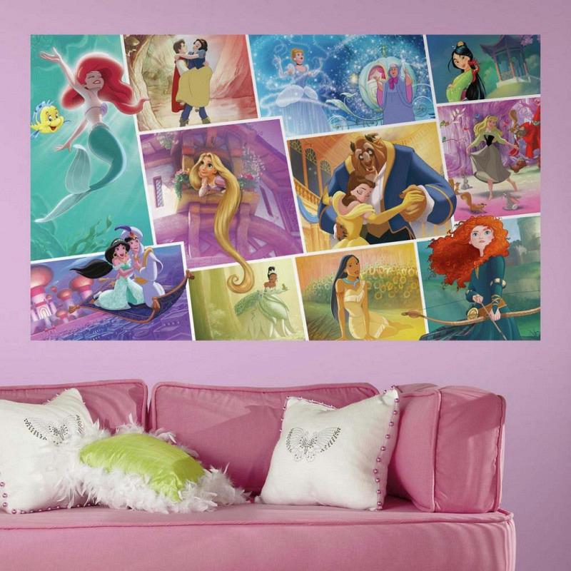 RoomMates Fototapete Disney Princess Märchenbuch