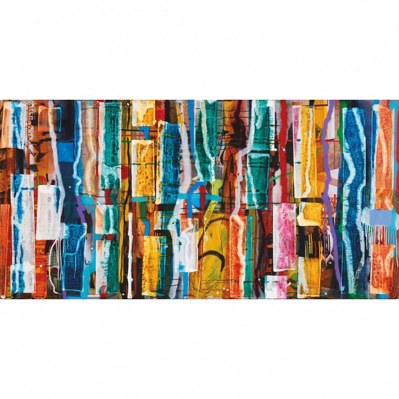 Vlies Fototapete Clearwater Farbspiel