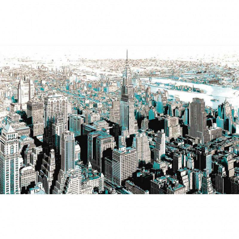 Vlies Fototapete Gotham City