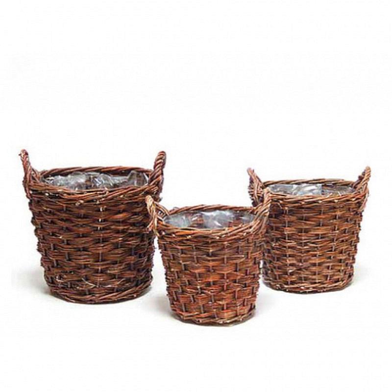Rohweidenkiepen Kartoffelkörbe Set