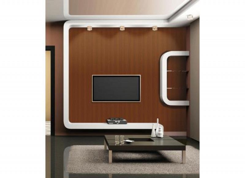 Tapete selbstklebend Möbelfolie Holz braun
